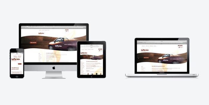 Webshop voor Koffie Kàn