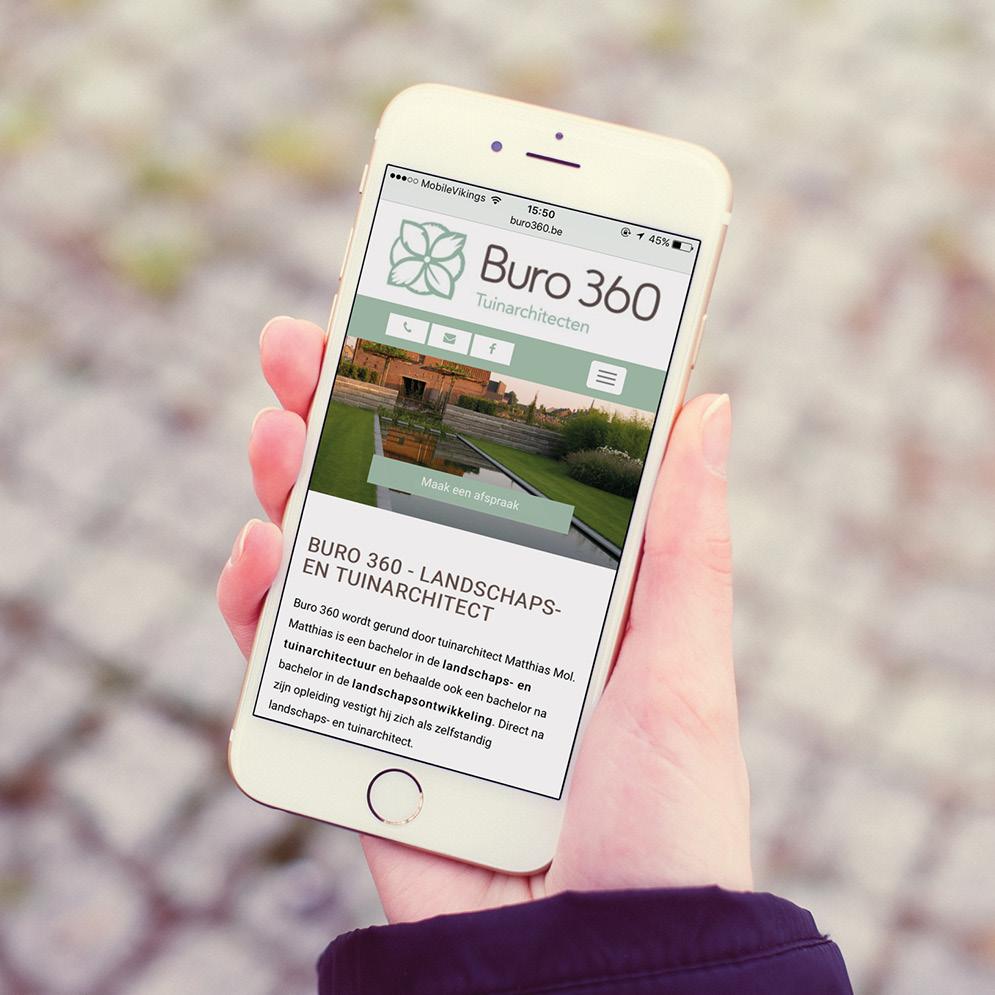 Website voor Buro 360