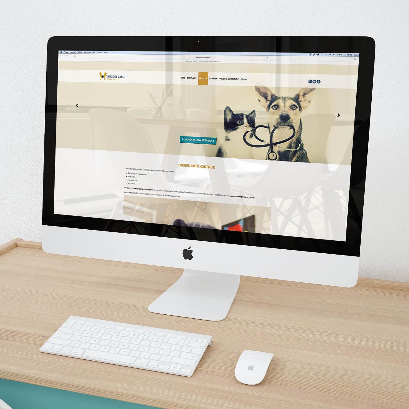Website Dierenarts Bajart