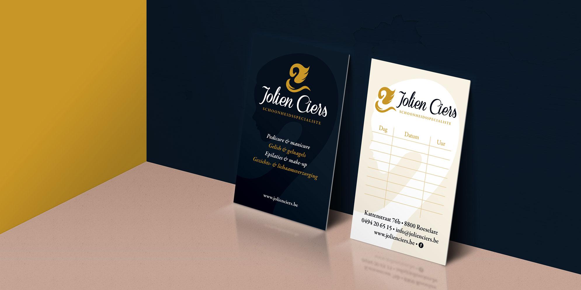 Visitekaartje voor Jolien Ciers