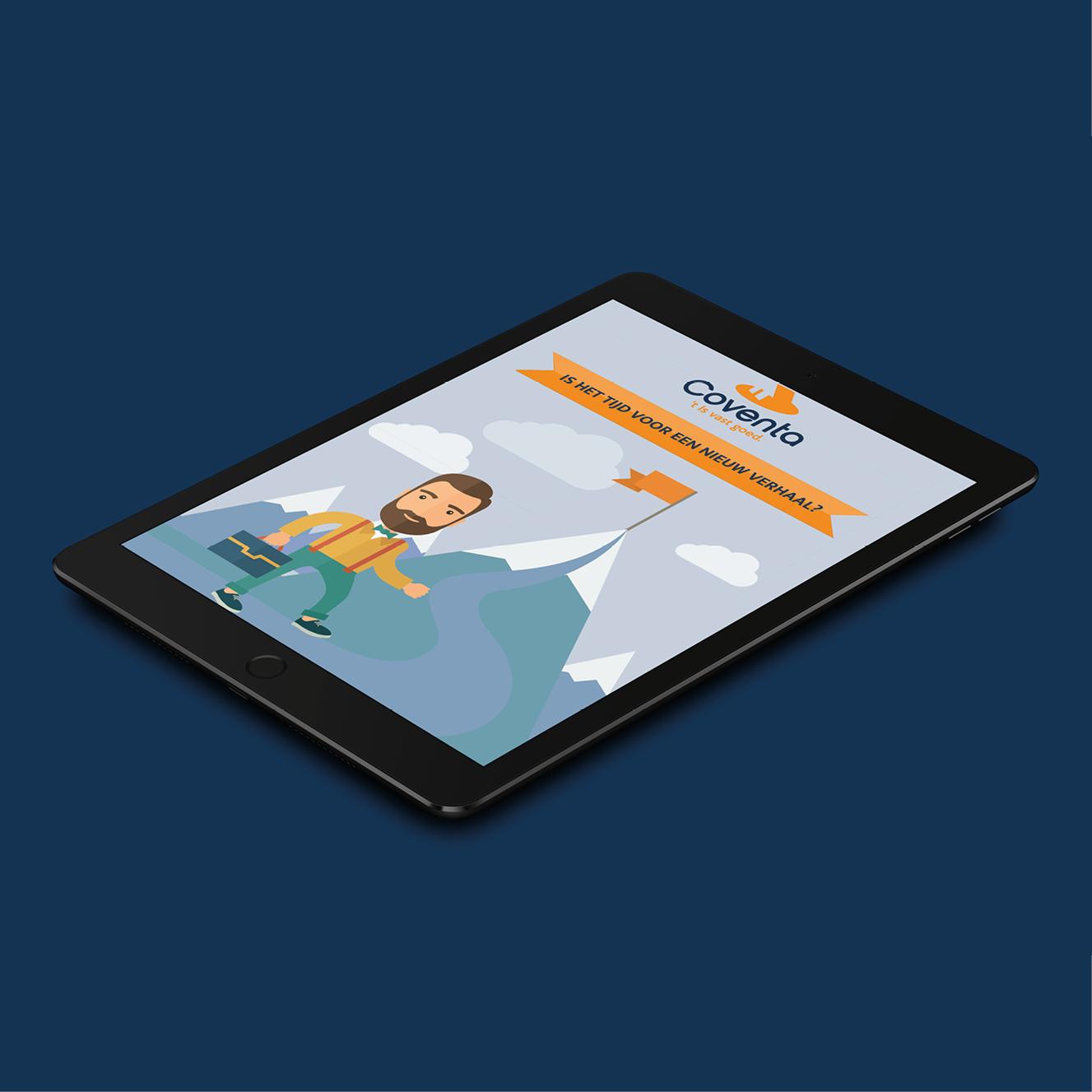 Digitale presentatie voor Coventa
