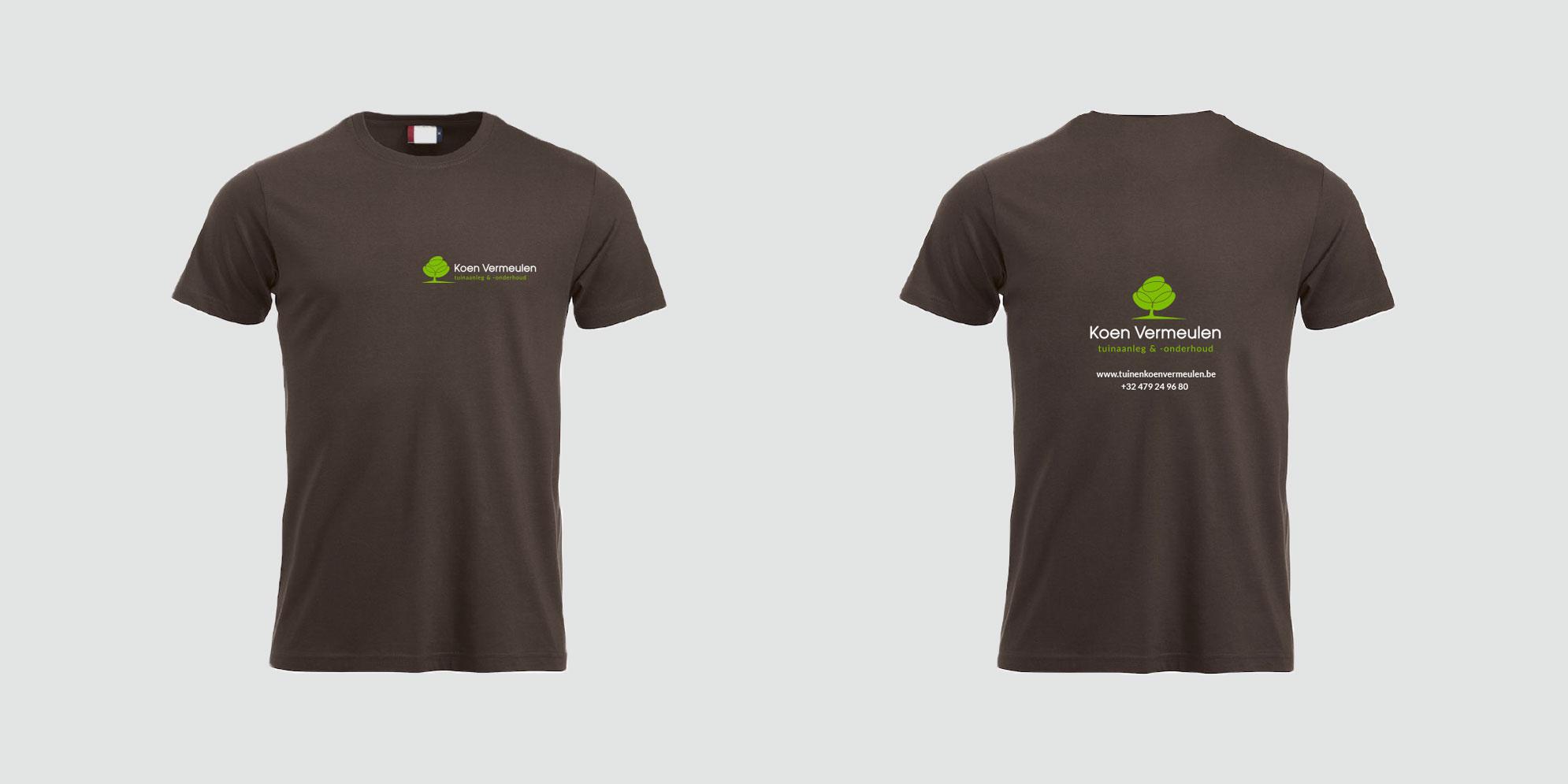 T-shirts voor Koen Vermeulen