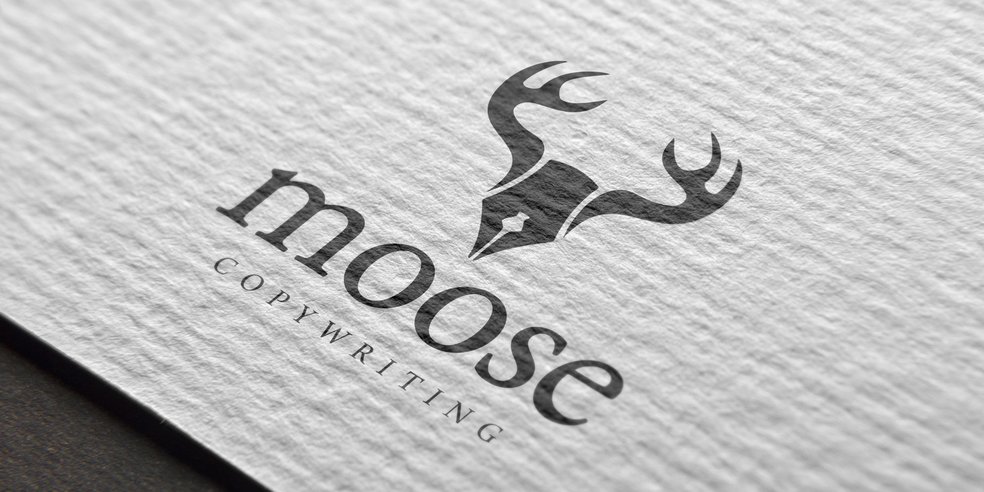 Logo voor Moose Copywriting