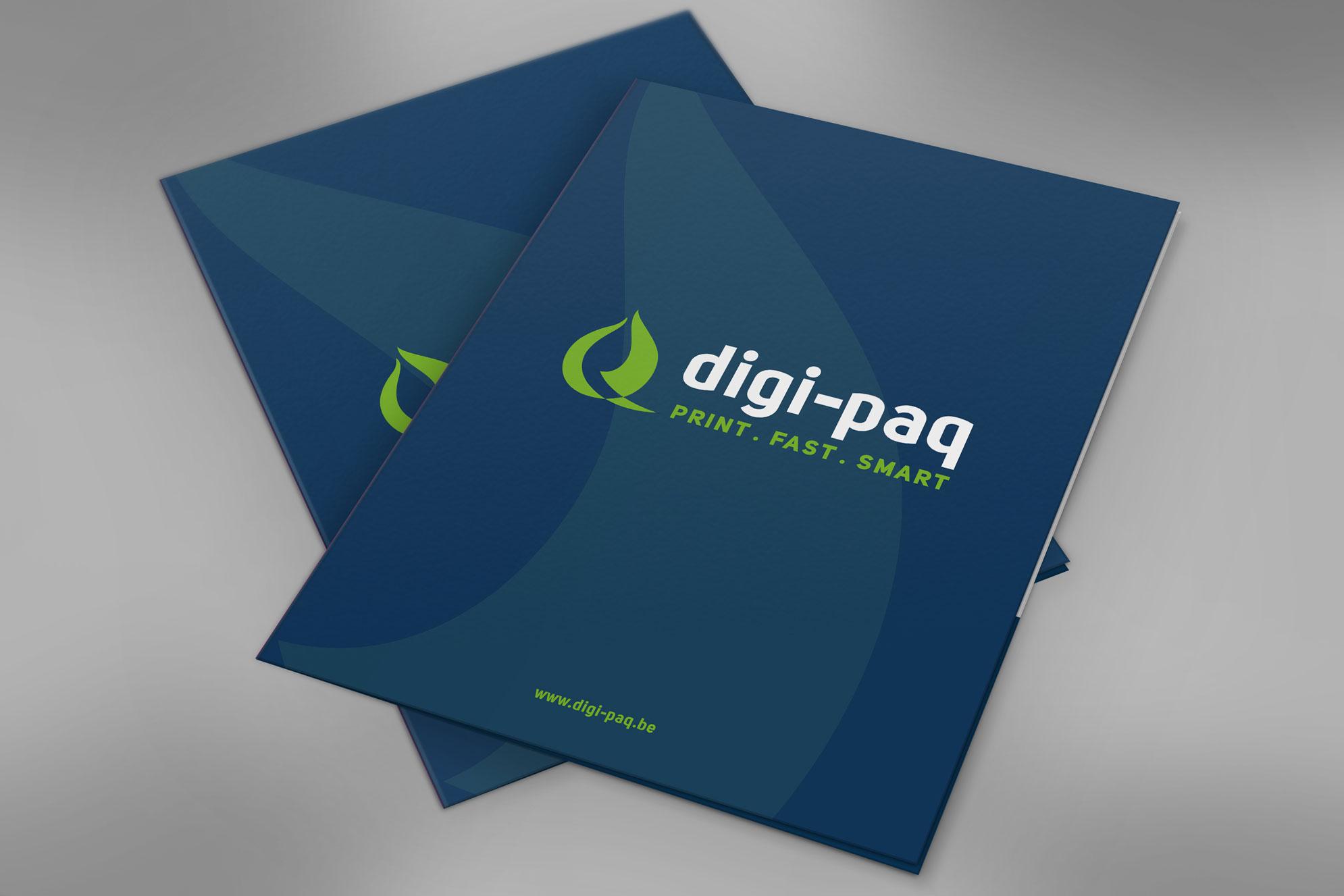 Presentatiemap Digi-Paq