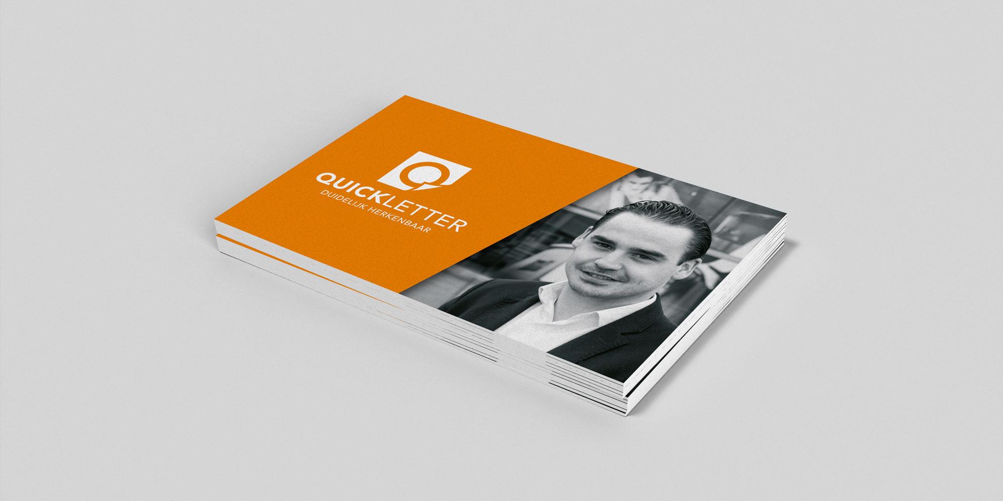 Visitekaartje voor Quickletter