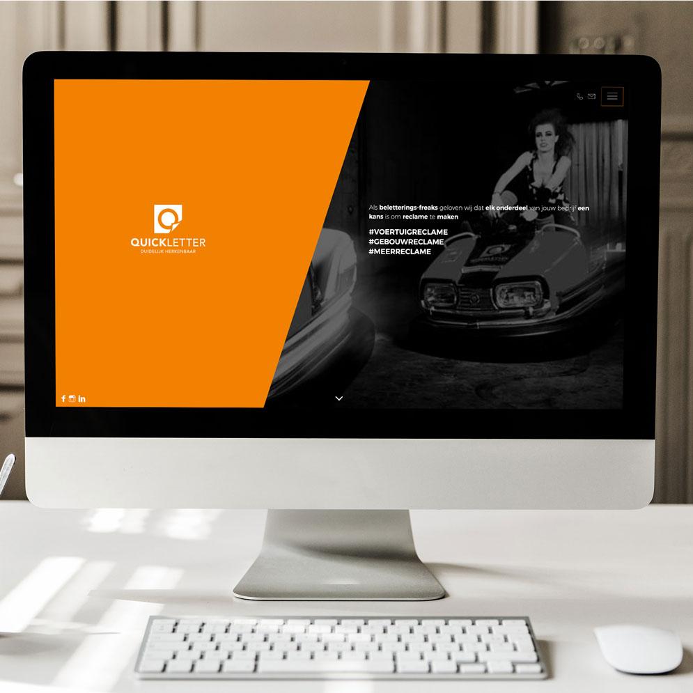 Website voor Quickletter