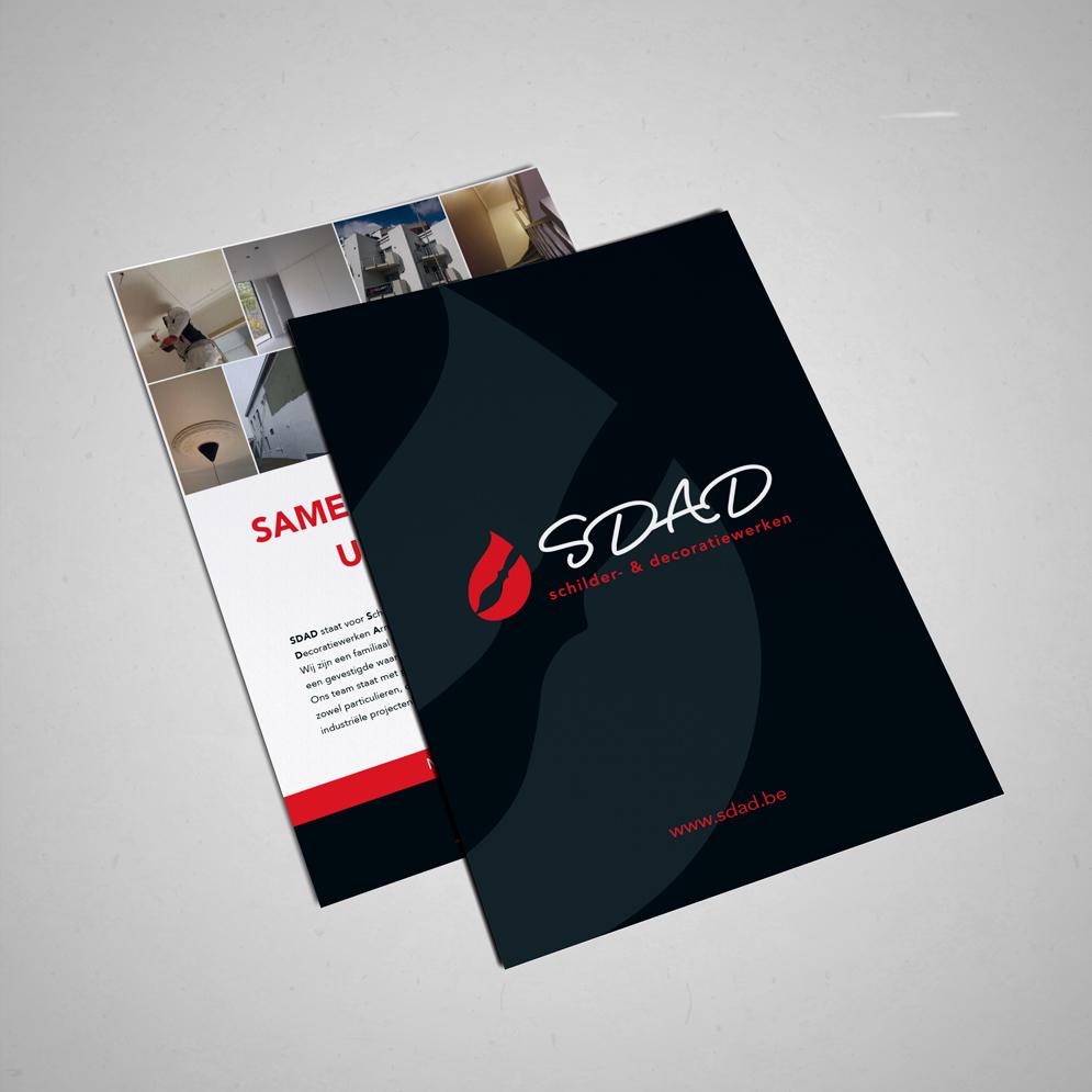 Flyer voor SDAD