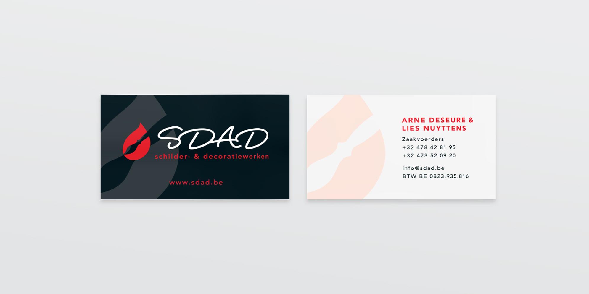 Visitekaartje voor SDAD