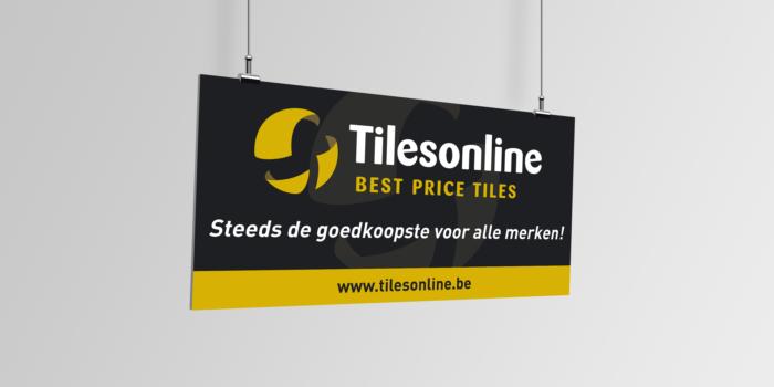 Spandoek voor Tilesonline