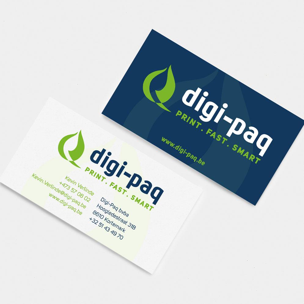 Visitekaartjes Digi-Paq