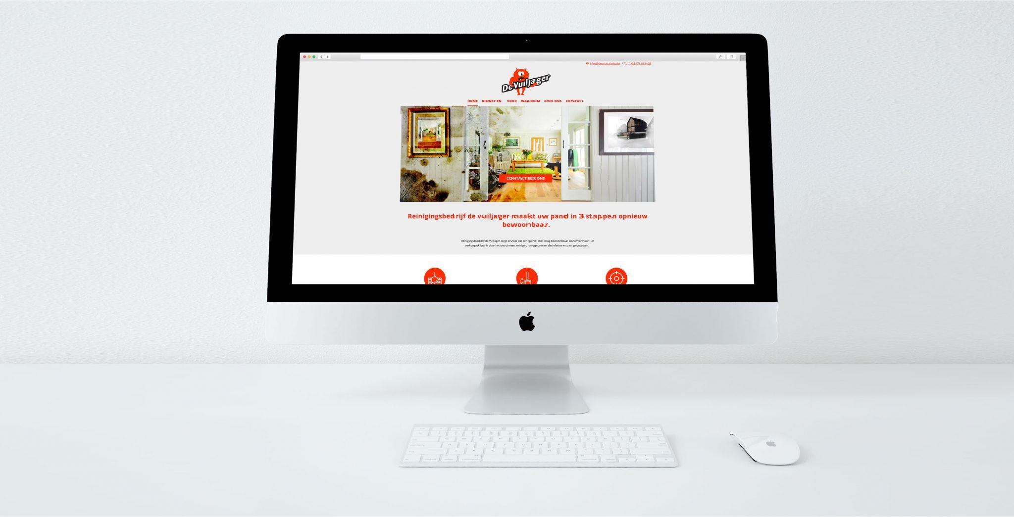 Website voor De Vuiljager