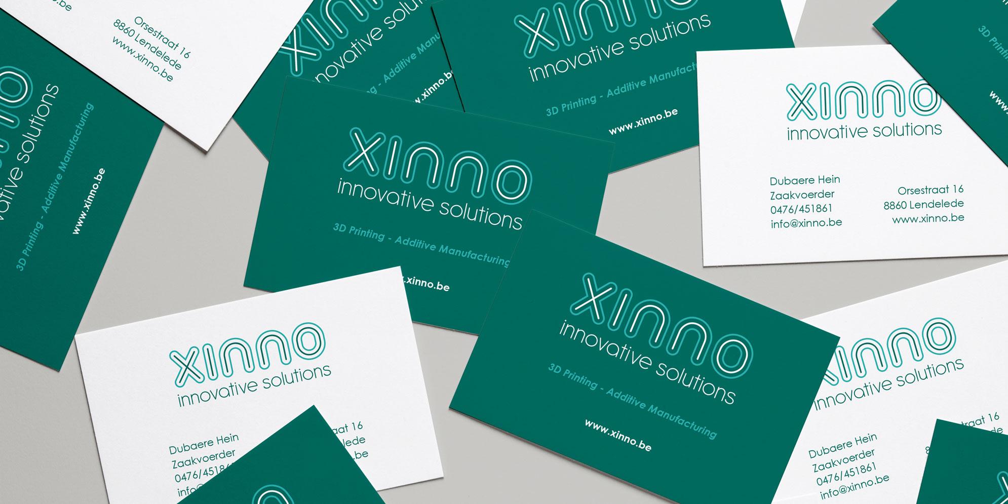 Visitekaartje voor Xinno