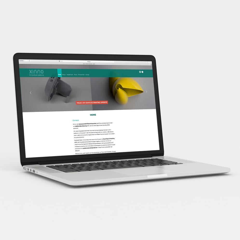 Website voor Xinno